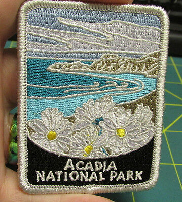 New Traveler Series Patch - Acadia National Park - Maine Embroidered Patch