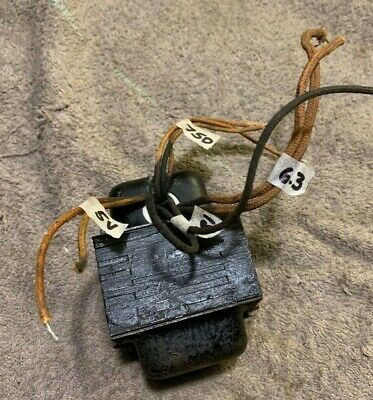 Small Power Transformer Hv 750vct 6.3v And 5v Filament Used Fully Tested