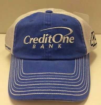 Kyle Larson Credit One Bank Racing   42 Vintage Trucker Hat   Free Ship