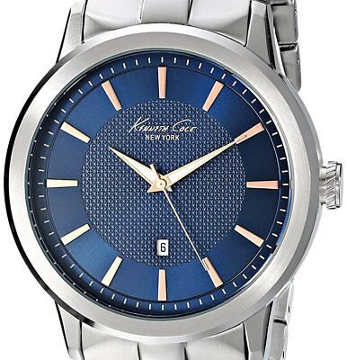PRE-OWNED $125 Kenneth Cole New York Men's Classic Viena Analog Japanese KC9337