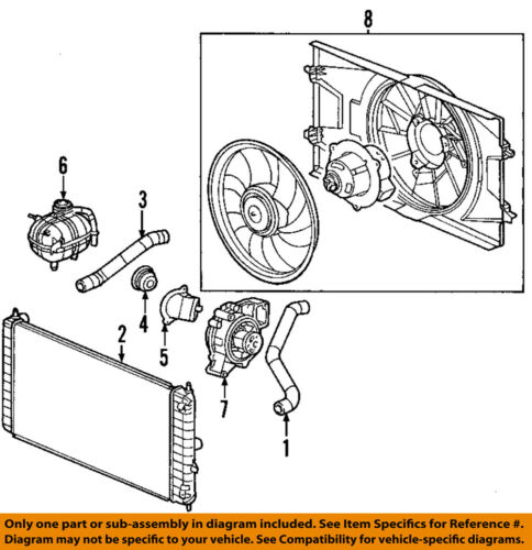 ispacegoa.com For 2003-2007 Saturn Ion Cooling Fan 03 04 05 06 07 ...