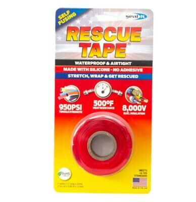 Rescue Tape Rt12012bre Silicone Repair Tape 1 Inch X 12 Feet