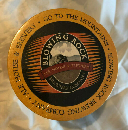 Blowing Rock Brewing Company SEALED SLEEVE OF 100 COASTERS craft brewing + BONUS