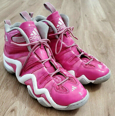 Adidas Mens Sneakers Size 10 Crazy 8 Pink