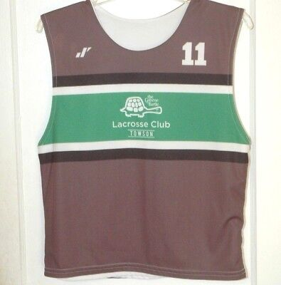 Rare THE GREENE TURTLE TOWSON LACROSSE CLUB JERSEY Baltimore Maryland LAX  TEAM 4ae68d462fd0