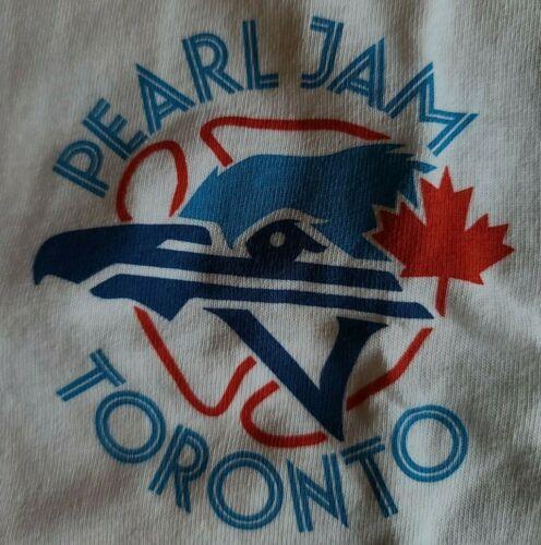Pearl Jam T-Shirt Toronto Sept 12th 2011 XL Brand New Unworn Unwashed Bluejays