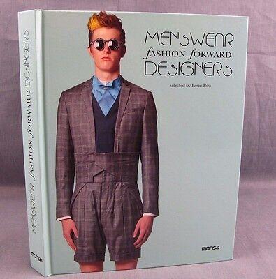 Men's Wear Fashion Forward Designers Hardcover Book 2012 Louis Bou Menswear