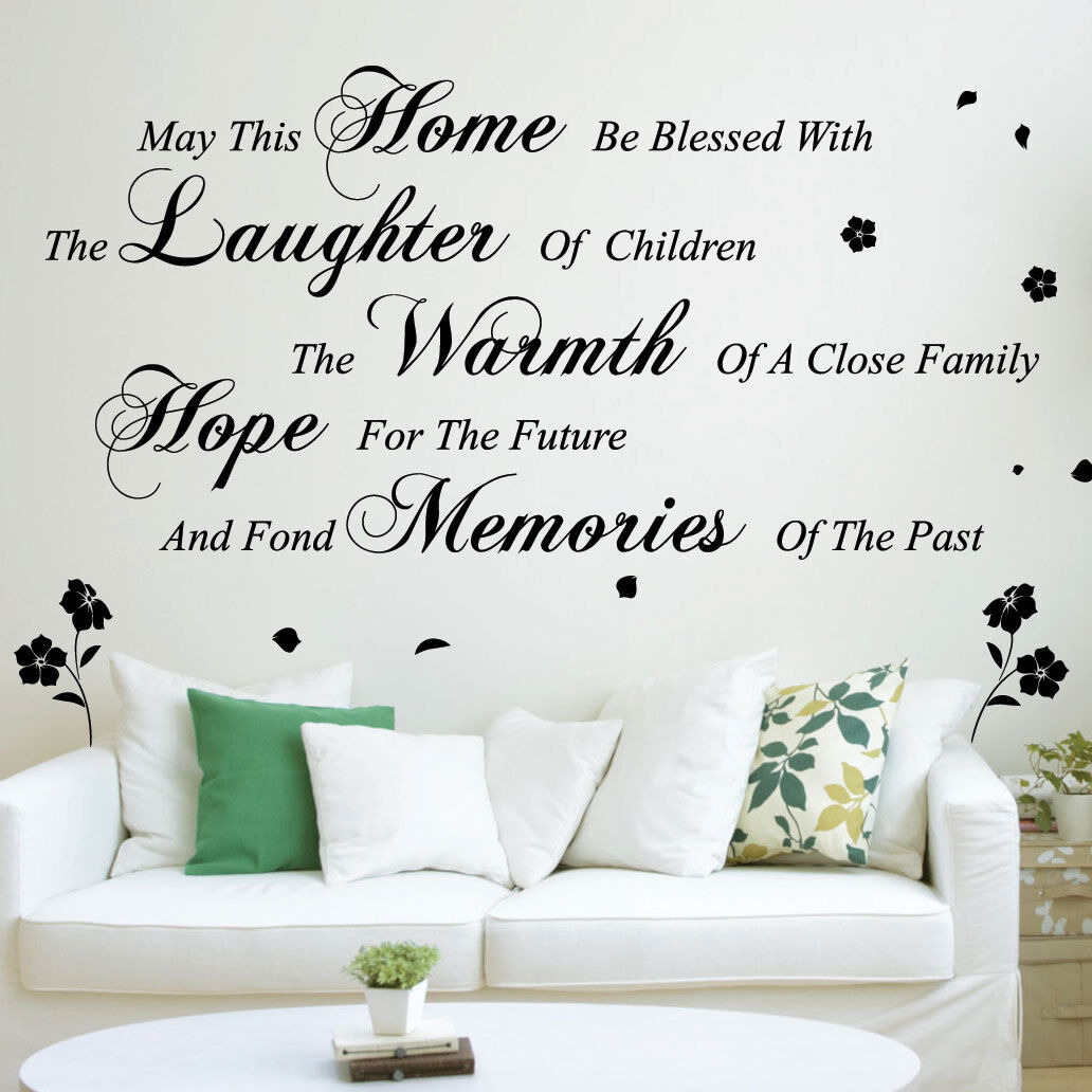 May this home wall art quotes wall stickers wall decals wall may this home wall art quotes wall stickers wall decals wall mural amipublicfo Gallery