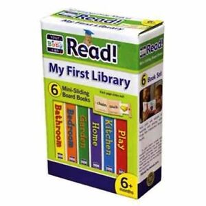 Your Baby Can Read My First Library 6 Mini Sliding Boards each page slides out