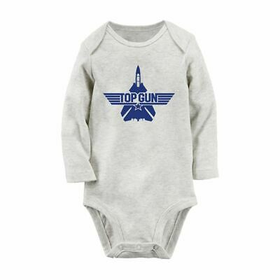Topgun Outfit (Top Gun Fancy Newborn Jumpsuit Baby Bodysuit Clothes Outfits Long Sleeve)