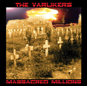 VARUKERS-Massacred-Millions-hardcore-UK-punk-CD-new-sealed-Fall-Out-Rat