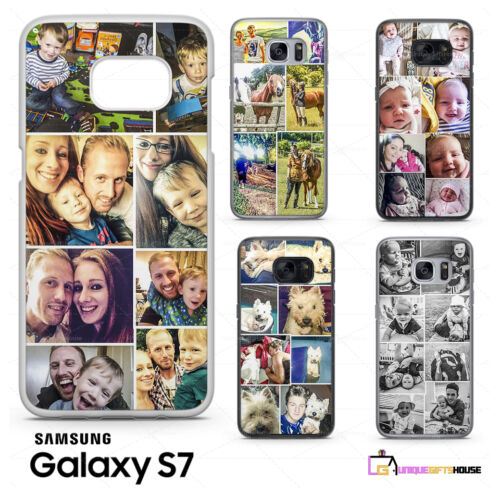 hot sale online 0240c fe622 Details about COLLAGE PHOTO PHONE CASE PERSONALISED FOR GALAXY ADD IMAGE  PHOTO S8 S9 S9 PLUS