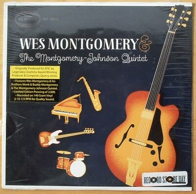 Record Store Day Wes Montgomery   The Montgomery    Johnson Quintet   Sealed