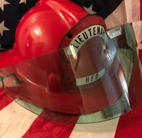 SAFETY SUPPLY CO.SUPER CHEIFTAIN/ Safe-T /FIRE HELMET/VINTAGE 1969 LT/HFD