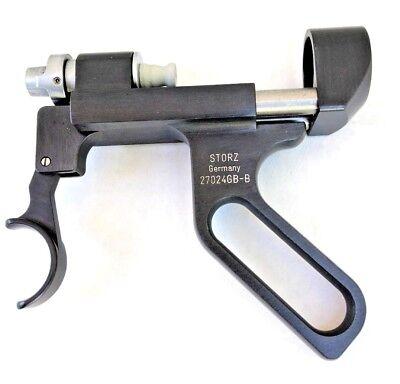 Storz 27024gb Urethal Ultrasonic Lithotripsy Laparoscope Transducer Handle
