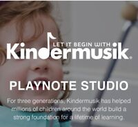 Kindermusik Classes - all ages