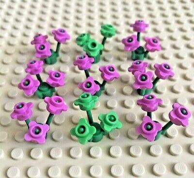 Lego Flowers Plants Foliage Garden Stems City Pirates Castle Disney Set Bulk Lot