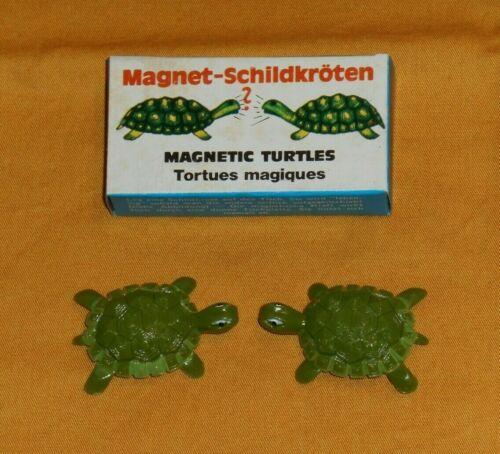 vintage MAGNETIC TURTLES in box