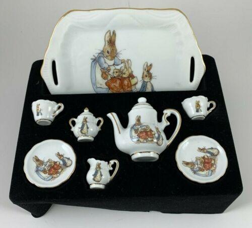 Reutter Germany Porcelain World Of Beatrix Potter Mini Tea Set *READ*