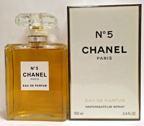 Chanel No 5 3.4oz / 100ml for women Eau De Parfum Spray Brand New Sealed