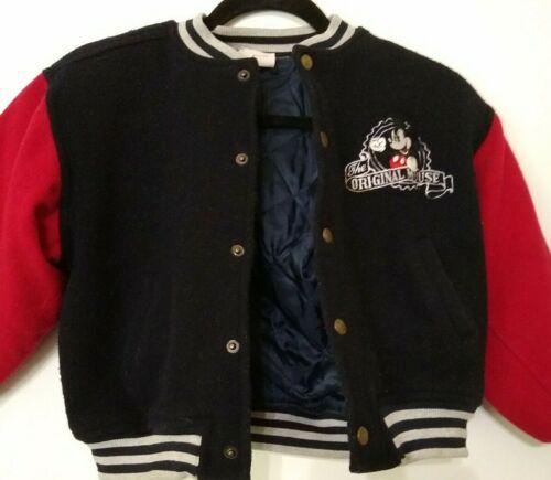 Disney KIds  Jacket Size 6/8 Original Mickey Mouse Disneyland Paris Vtg.