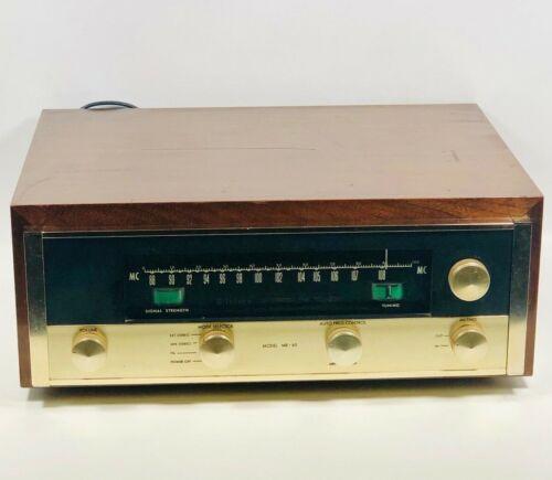 McINTOSH MR65 TUBE FM TUNER - ALL ORIGINAL - VINTAGE