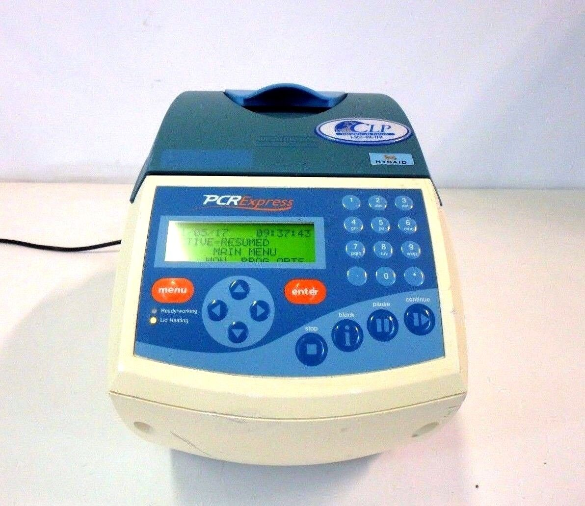 Hybaid PCR Express HBPX110 Thermal Cycler w/ 5 mm 96 Well Block Lab Laboratory