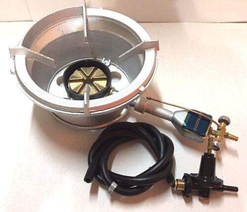 "High Pressure Burner Propane Gas Manual 12"" Mouth Up to 119000 BTU/HR B-0005 NEW"