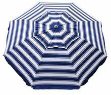 DAYTRIPPER 205CM BEACH UMBRELLA - NAVY/WHITE West Perth Perth City Preview