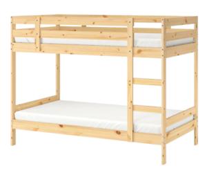 Ikea bunk bed timber