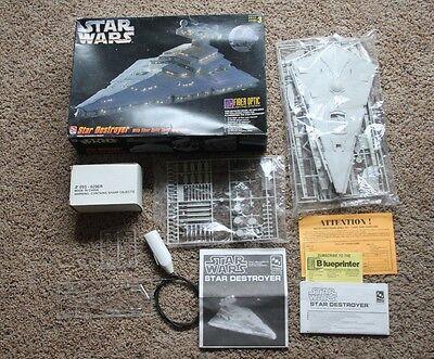 1995 AMT/ERTL Star Wars Star Destroyer with Fiber Optic Lighting System