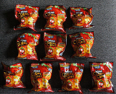 10 The Grossery Gang Mini Corny Chips 1 GrosseryGang + Milk Crate Comic Con Lot