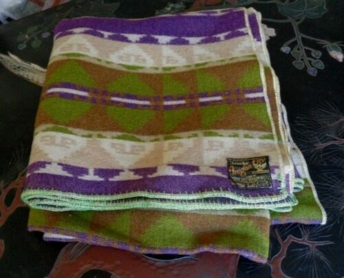 Collectors Antique Jacobs Trade Blanket Fearless Woven Wool A++