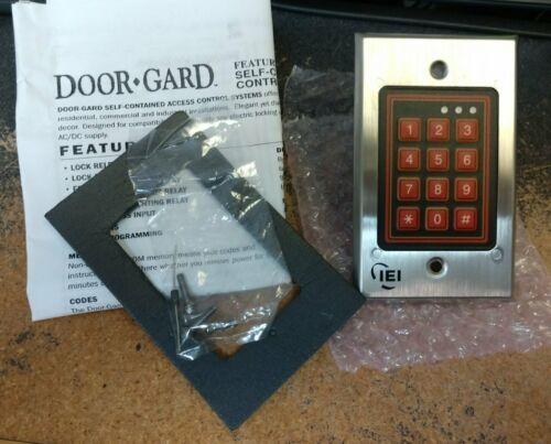 IEI 232W DOOR GARD WEATHER PROOF KEYPAD SYSTEM - FLUSH MOUNT OUTDOOR