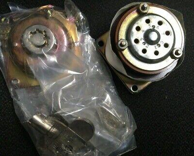 Electroswitch 65302b Key Rotary Switch 2x8 Position Panel Mount Key Lock New