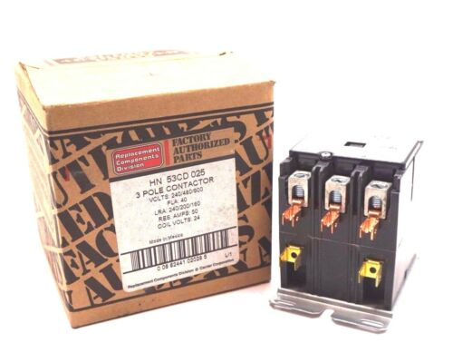 NEW TYCO ELECTRONICS HN53CD025 CONTACTOR