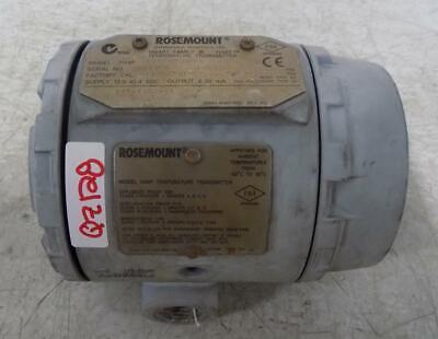 Rosemount Pt100 385 3 Wire Temperature Transmitter 3144p D1a1e5m50pxa