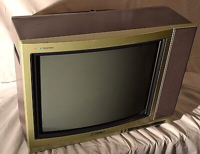 CLEAN Vintage Sony Trinitron Color TV Receiver KV-2071R Works GREAT! Ships48Fast