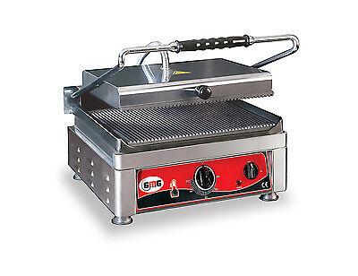 GMG Kontaktgrill 2735 Gastronomie Toast Maschine Imbiss Gerillt o. Glatt Toaster