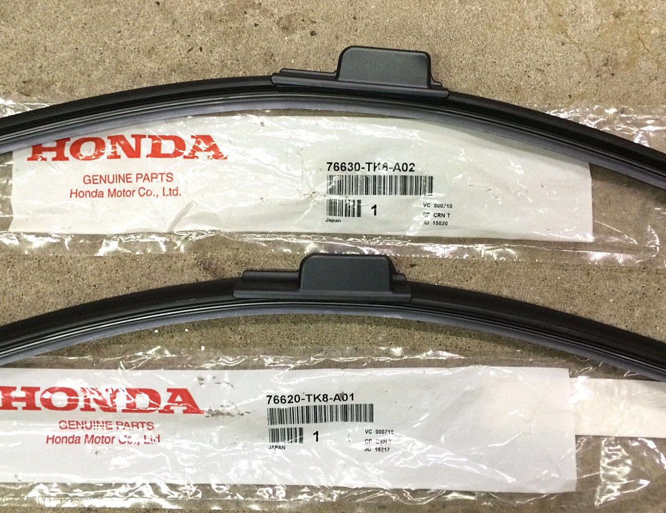 1 Of 2FREE Shipping Genuine OEM Honda Odyssey Front Windshield Wiper Blades  2014   2017