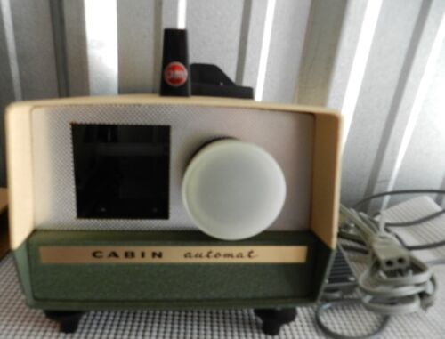 Vintage CABIN Automat Slide Projector w/ Remote Control Made in Japan