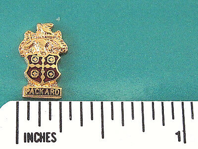 """PACKARD  CREST """"mini-pin""""  - hat pin,  lapel pin , tie tac , hatpin GIFT BOX (G) for sale  Weimar"""