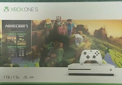 Xbox One S 1TB Console - Minecraft Bundle Brand New!!!