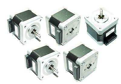 5 X Nema 17 Sanyo Denki Stepper Motors Mill Robot Reprap Prusa 3d Printer Diy