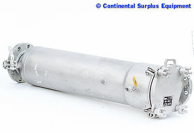 Parker 4LFE6-1-2 Cartridge Filter Housing 2 NPT Stainless Steel 304 Requires Six Cartridges X 10 Length; 30 gpm