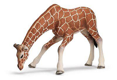 Giraffenkuh saufend 13 cm Serie Wildtiere Schleich 14390