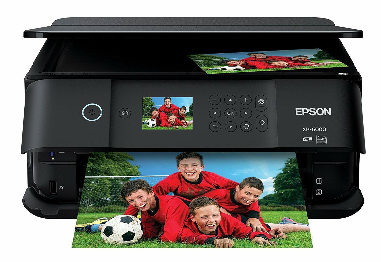 Epson Expression Premium XP-6000 Wireless Color Photo Printe