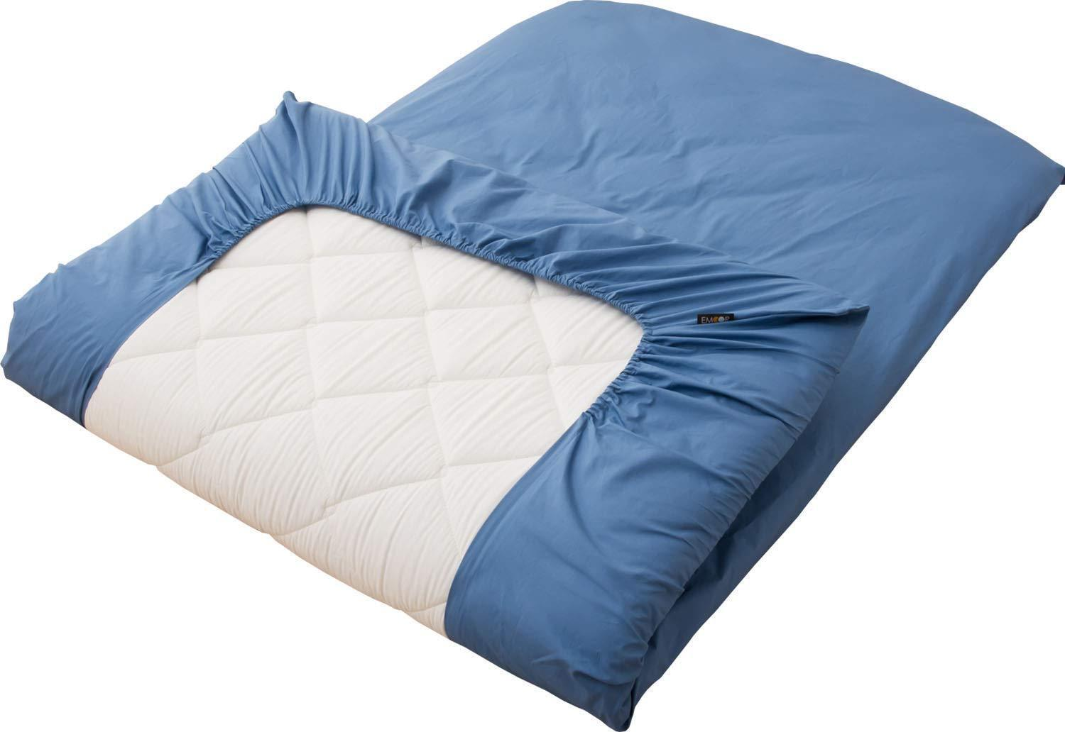 """new! 100% Cotton Fitted Sheet for Thick Futon Mattress """"EMOO"""