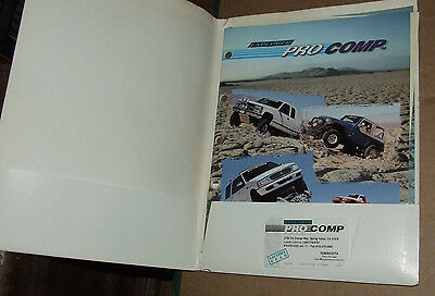 Explorer Pro Comp  Truck, SUV  & 4x4  SUSPENSION DealerCatalog USA 1999 Edition