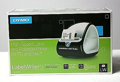 Dymo 450 Turbo High Speed Label Postage Printer For Pc Mac New
